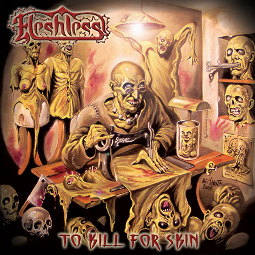 FLESHLESS - To Kill For Skin CD