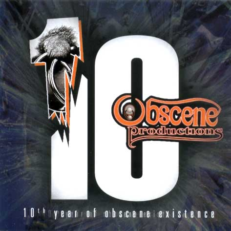 10th year of OBSCENE CD