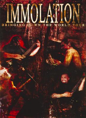IMMOLATION - Bringing Down The World DVD