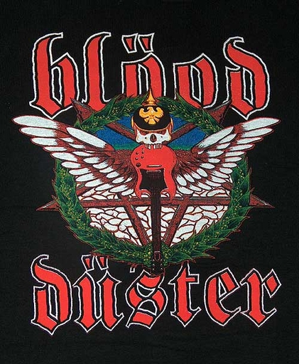 BLOOD DUSTER - Album Cover TS