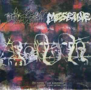 DEPRESSION / MESRINE CD split