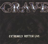 GRAVE - Extremely Rotten Live CD digipack