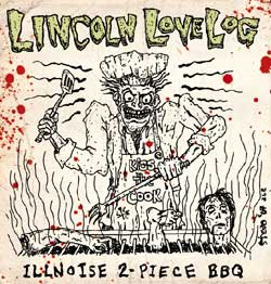 LINCOLN LOVE LOG - Illinoise 2 Piece BBQ