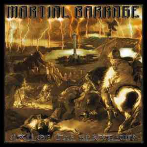 MARTIAL BARRAGE - Call Of The Serapeum CD