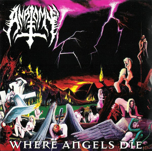 ANATOMY - Where Angels Die CD