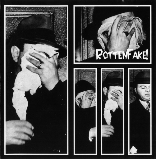 ROTTEN FAKE 3 way split CD