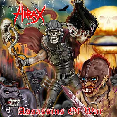 HIRAX - Assassins Of War CD