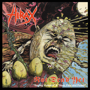 HIRAX - Raging Violence + Hate, Fear And Power CD