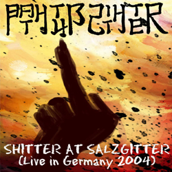BATHTUB SHITTER - Shitter At Salzgitter CD