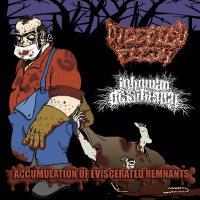 DIGESTED FLESH / INHUMAN DISSILIENCY CD split