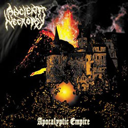 ANCIENT NECROPSY - Apocalyptic Empire CD