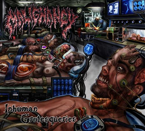 MALIGNANCY - Inhuman Grotesqueries CD