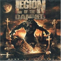 LEGION OF THE DAMNED - Sons Of The Jackal CD + DVD