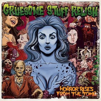 GRUESOME STUFF RELISH - Horror Rises From The Tomb CD