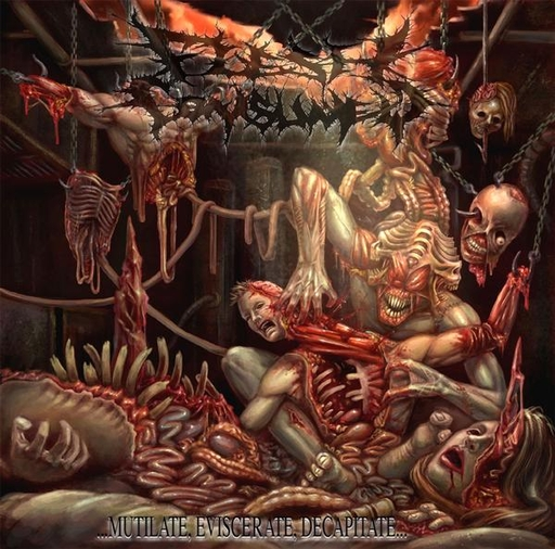 FLESH CONSUMED - Mutilate, Eviscerate, Decapitate
