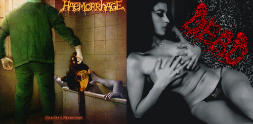HAEMORRHAGE / DEAD split CD