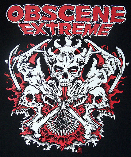 OBSCENE EXTREME 2008 - Saw - Black TS