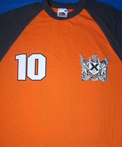 OBSCENE EXTREME 2008 - Jersey - Orange TS