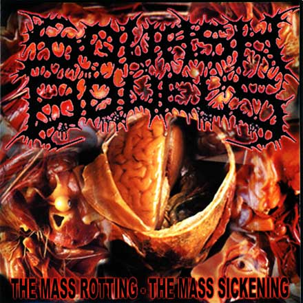 SQUASH BOWELS - The Mass Rotting - The Mass Sickening CD