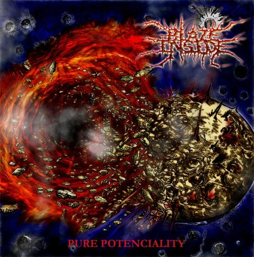BLAZE INSIDE - Pure Potenciality CD