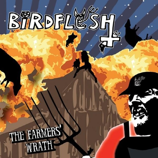 BIRDFLESH - The Farmers' Wrath CD