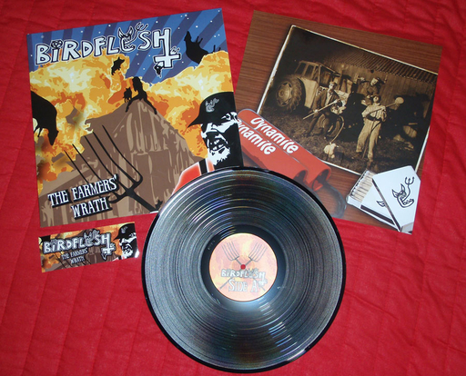 BIRDFLESH - The Farmers´ Wrath - Černé LP