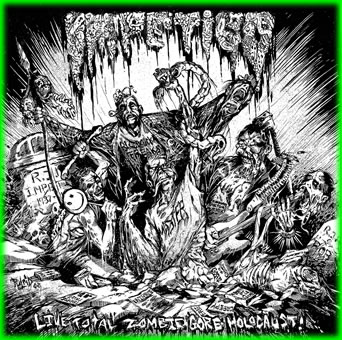 IMPETIGO - Live Total Zombie Gore Holocaust CD
