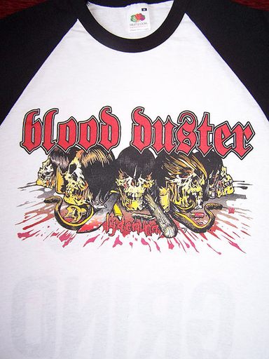 BLOOD DUSTER - Emo Grind - baseball TS