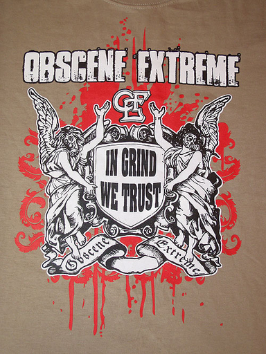 OBSCENE EXTREME 2009 - In Grind We Trust - Hnědé TS