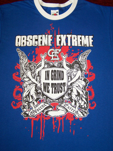 OBSCENE EXTREME 2009 - In Grind We Trust - Modré TS