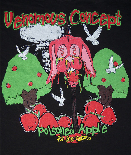 VENOMOUS CONCEPT - Poisoned Apple - TS