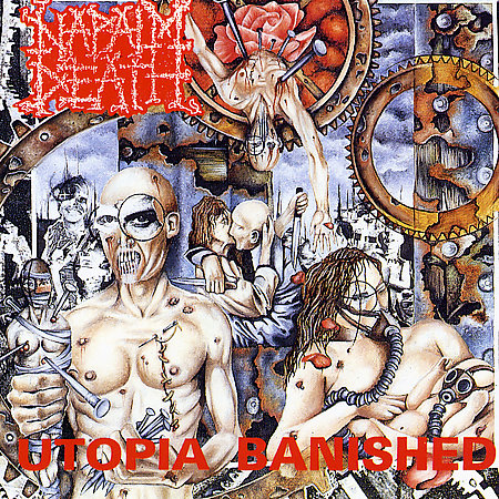NAPALM DEATH - Utopia Banished CD