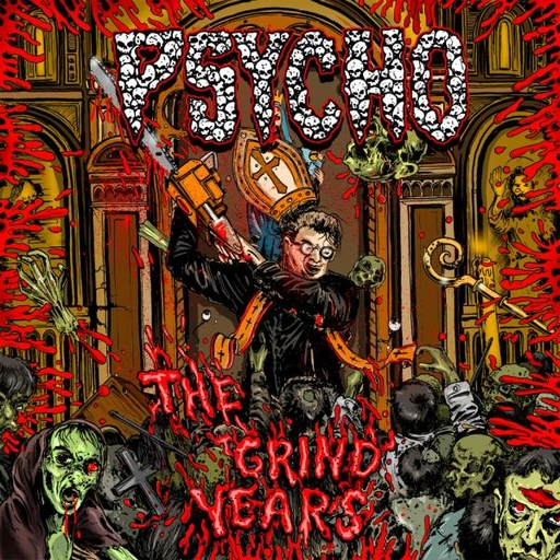 PSYCHO - The Grind Years CD