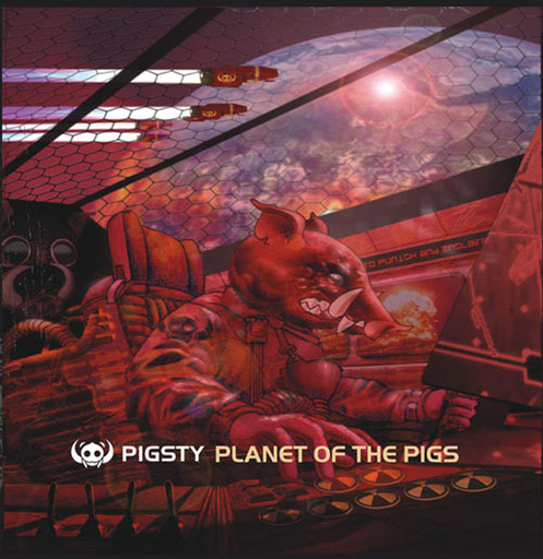 PIGSTY - Planet Of The Pigs CD + DVD digipack