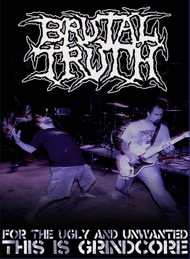BRUTAL TRUTH - For The Ugly And Unwanted, This Is Grindcore DVD