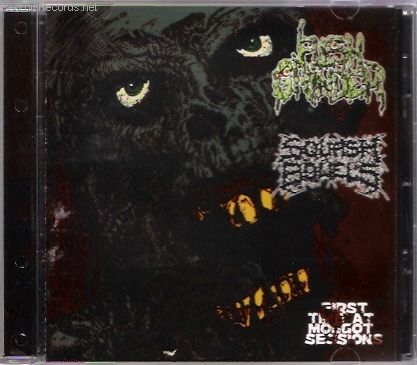 SQUASH BOWELS / FLESHGRINDER split CD