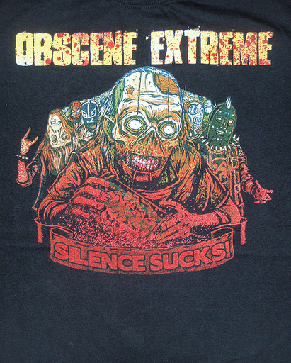 OBSCENE EXTREME 2010 - Freak Army - just front print TS