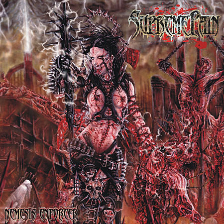 SUPREME PAIN - Nemesis Enforcer CD