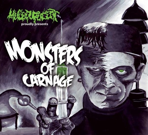 MUCUPURULENT - Monsters Of Carnage CD