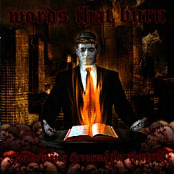 WORDS THAT BURN - Spawning Ground For Hatred CD