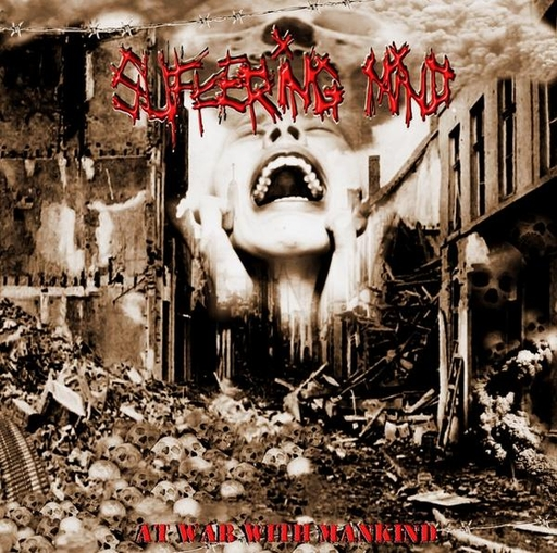 SUFFERING MIND - At War With Mankind CD