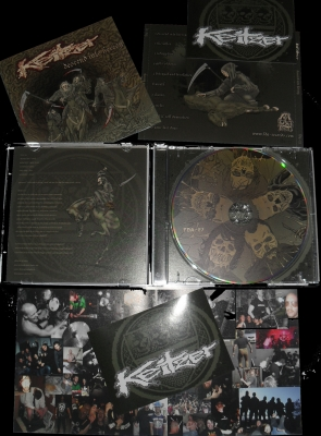 KEIZTER - Descend Into Heresy CD