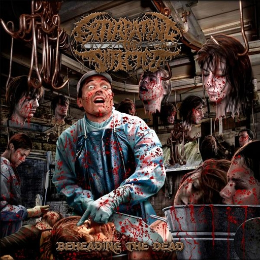 EXTIRPATING THE INFECTED - Beheading The Dead CD