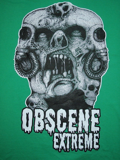 OBSCENE EXTREME 2011 - Grindhead - Green TS