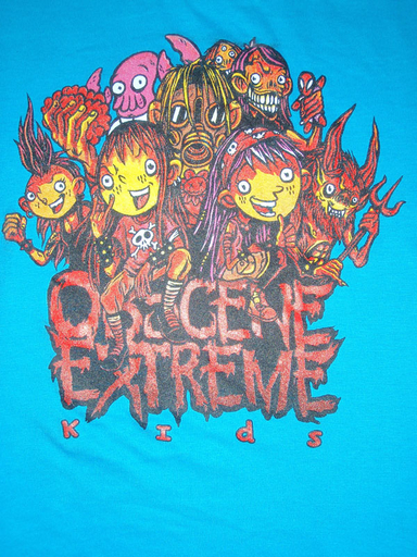 OBSCENE EXTREME 2011 - OEF Family Kids Blue TS