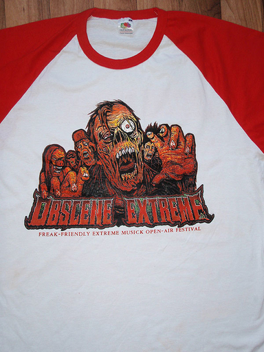 OBSCENE EXTREME 2011 - Zombies - Baseball TS