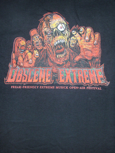 OBSCENE EXTREME 2011 - Zombies / Bands - TS