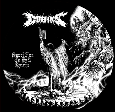 COFFINS - Sacrifice To Evil Spirit picture LP