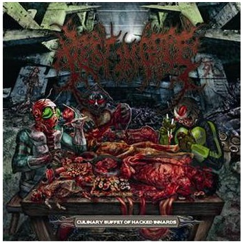REST IN GORE - Culinary Buffet Of Hacked Innards CD