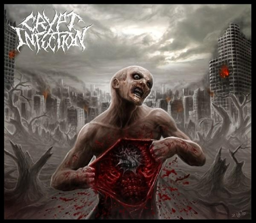 CRYPT INFECTION - Haruspication CD